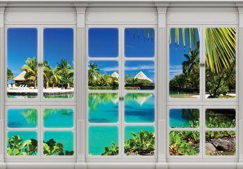 Fototapeta - Okno na Havaji (T030425T368280A)