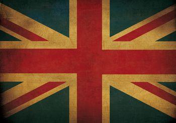 Fototapeta - Vlajka Veľkej Británie (T030459T368280A)