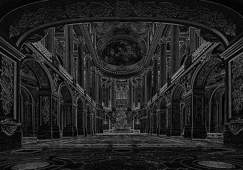 Fotótapéta - Nagyterem, Versailles-i csarnok (T030471T368280A)