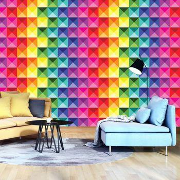 Fototapet - Cuburi colorate (T030508T368280A)
