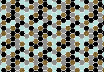 Fototapeta - Šesťuholník mozaika (T030518T368280A)