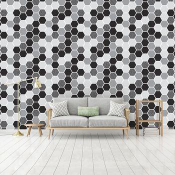Fototapeta - Šestiúhelník mozaika (T030519T368254B)