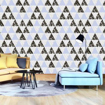 Fototapeta - Mozaiky - trojúhelník (T030529T368280A)