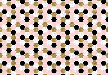 Fototapeta - Šesťuholník mozaika (T030544T368280A)
