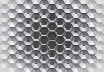 Fotótapéta - 3D hatszögek (T030549T368280A)