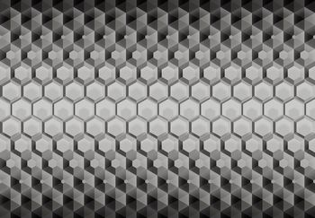 Fotótapéta - 3D hatszögek (T030552T368280A)