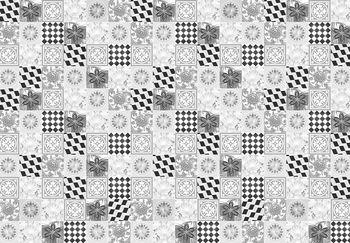 Fotótapéta - Fekete-fehér csempe (T030603T368280A)