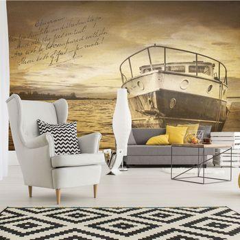 Fotótapéta - Vintage hajó (T030615T368280A)