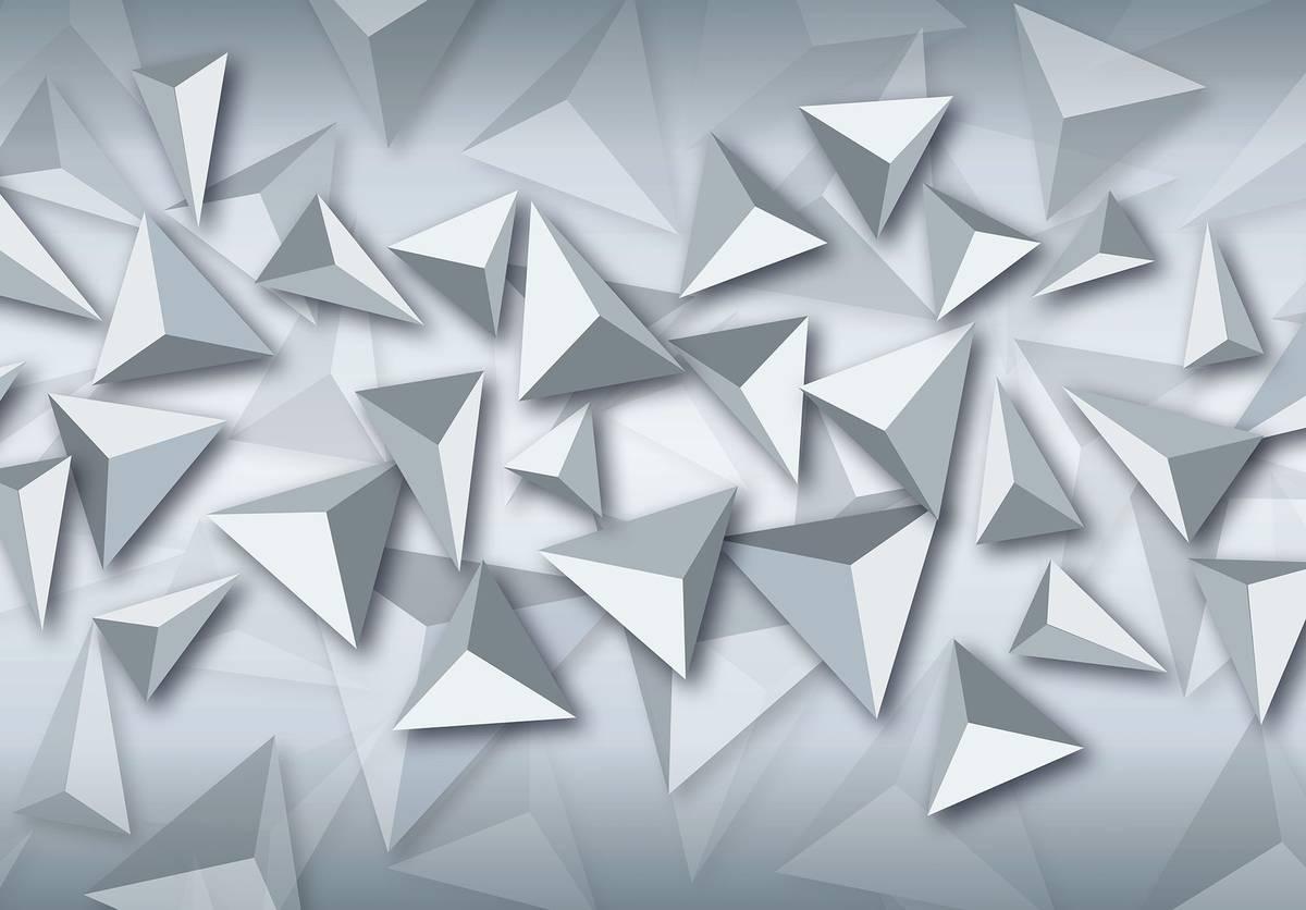 Fototapeta - Trojúhelník 3D (T030653T1525104B)