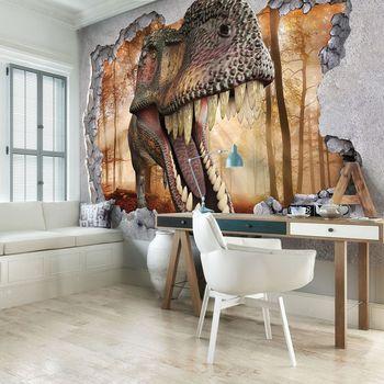 Fototapet - Gaură - dinozaur (T030695T368280A)