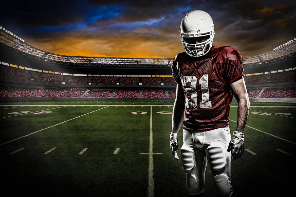 Fototapet - Stadionul american de fotbal (T030764T254184A)