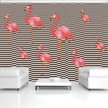 Fotótapéta - Flamingók (T030776T368280A)