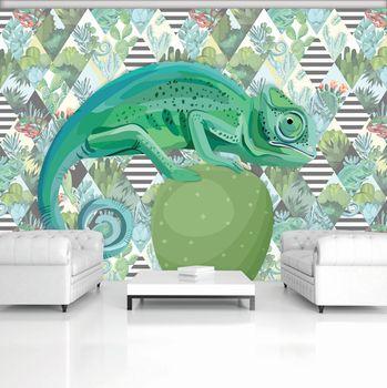 Foto tapeta - Kameleon (T030777T368280A)