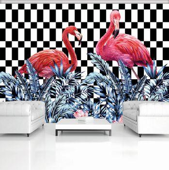 Fototapet - Flamingo (T030780T368280A)