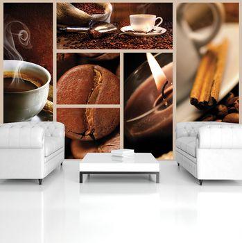Fototapeta - Kávové zrná (T030904T254184A)