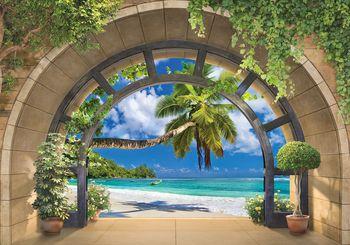 Foto tapeta - Pogled na plažu (T030956T368280A)
