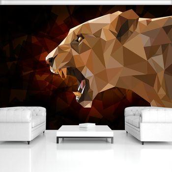 Fotótapéta - Nőstény oroszlán (T030959T368280A)