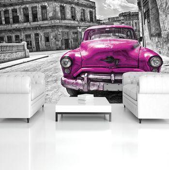 Fotótapéta - Kubai Vintage autó (T031085T254184A)