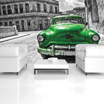 Fotótapéta - Kubai Vintage autó (T031098T254184A)