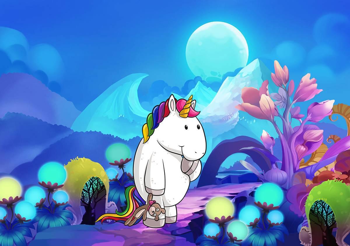 Fototapet - Unicorn (T031139T1525104B)