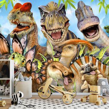 Foto tapeta - Dinosauri - Selfie (T031542T254184A)