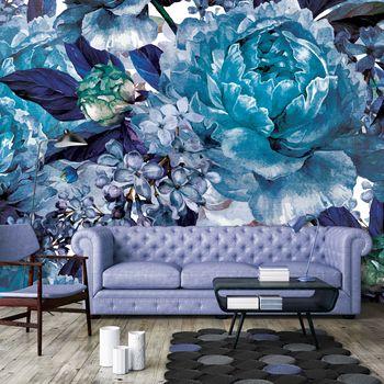 Fotótapéta - Kék virágok (T031896T254184A)