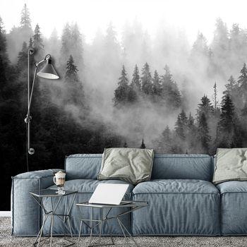 Fotótapéta - Erdő a ködben (T031930T368280A)
