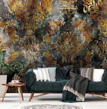 Fototapet - Motiv auriu maro - beton (T032017T368280A)