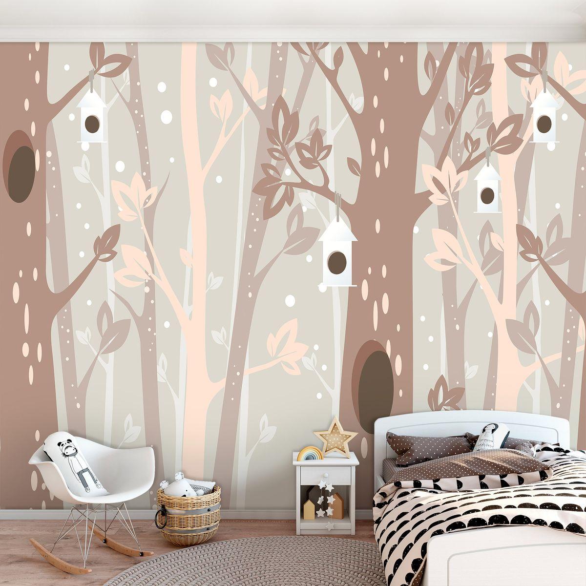 Foto tapeta - Rjava drevesa (T032069T1525104B)