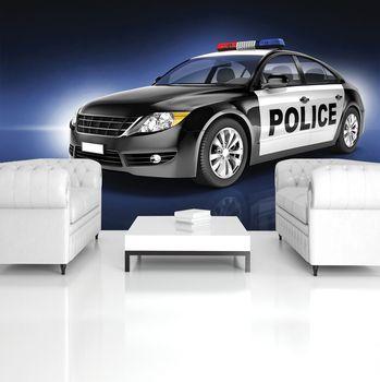 Foto tapeta - Policijski avto (T032640T254184A)