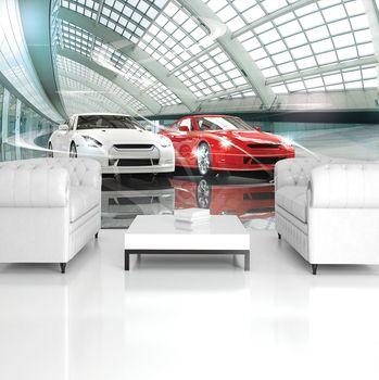 Fototapeta - Luxusný autosalón (T032641T254184A)
