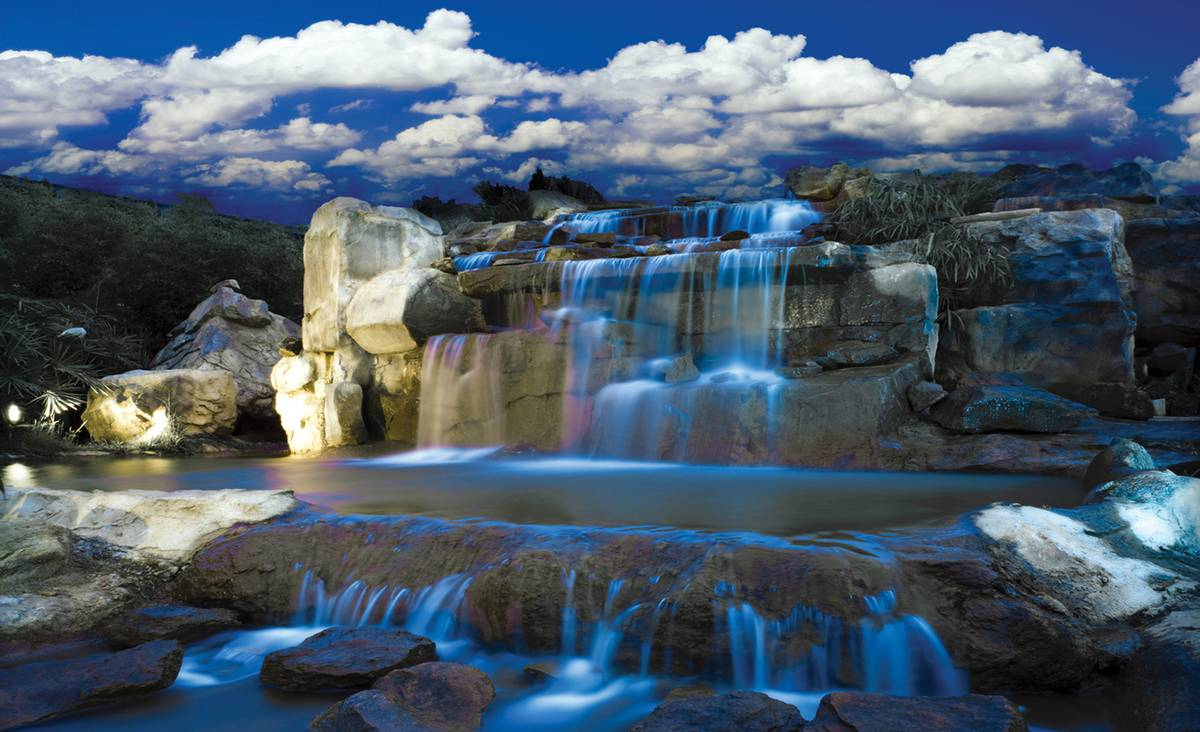 Fototapet - Cascada albastră (T032655T1525104B)
