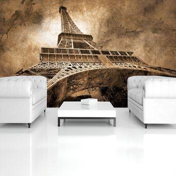 Fototapeta - Eiffelova věž Paříž City Urban (T032934T254184A)