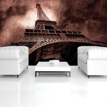 Fototapeta - Eiffelova věž (T032937T368254A)