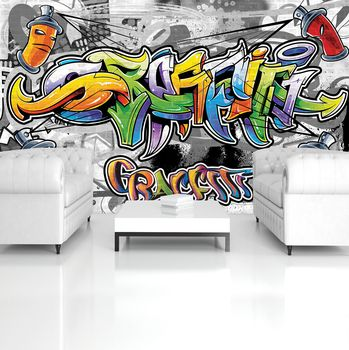 Fototapeta - Farebné Graffiti (T032977T254184A)