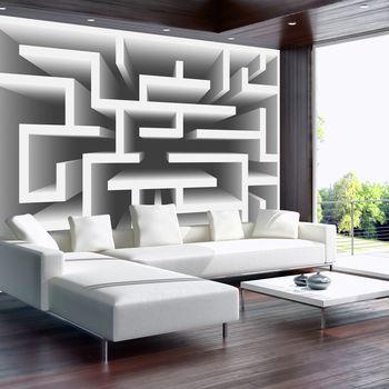 Foto tapeta - 3D labirint (T033143T254184A)