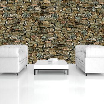 Fototapeta - Stone Wall Rock (T033146T254184A)