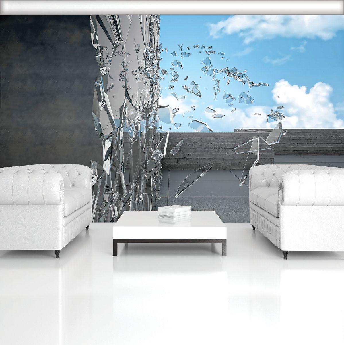 Fototapeta - Rozbité sklo (T033406T254184B)
