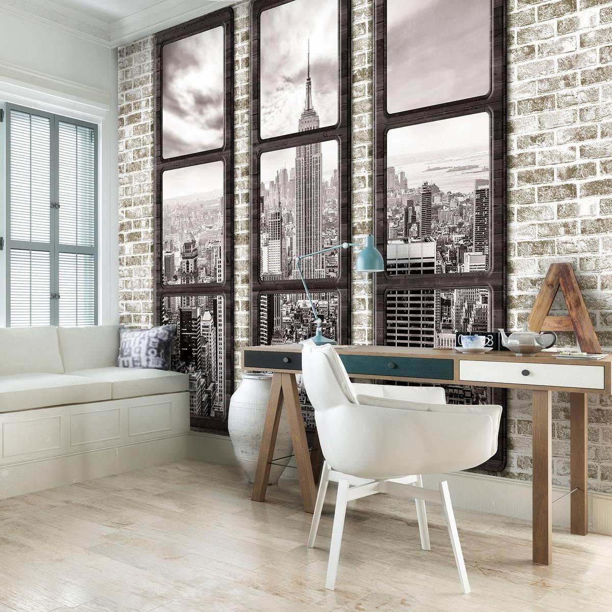 Fototapeta - New York  - výhled z okna (T033437T254184B)