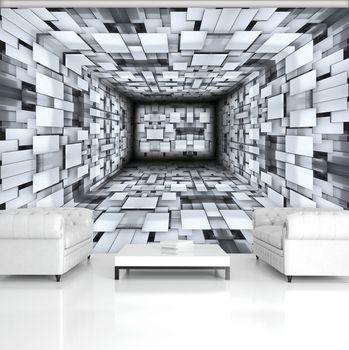 Foto tapeta - Koridor 3D (T033513T254184A)