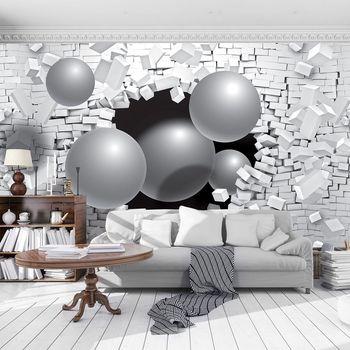 Foto tapeta - 3D apstrakcija (T033518T254184B)