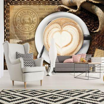 Fototapeta - Latte Art (T033734T254184A)