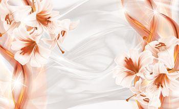 Foto tapeta - Narančasta apstrakcija (T033767T254184B)