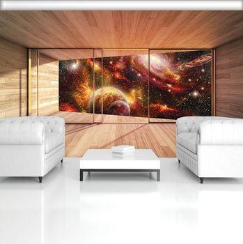 Fototapeta - Pohľad na vesmírnu terasu (T033809T254184A)