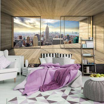 Foto tapeta - New York Panorama View (T033830T254184A)