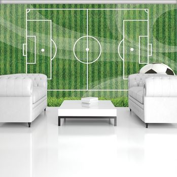 Fototapet - Teren de fotbal (T033918T254184A)