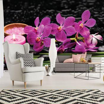 Fototapeta - Ružové orchidey (T033928T254184A)