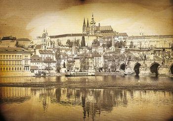 Foto tapeta - Praga - Vintage (T034079T254184A)