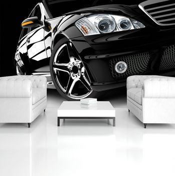 Fotótapéta - Fekete luxusautó (T034271T254184A)