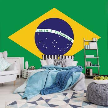 Fototapeta - Vlajka Brazílie (T034334T254184A)